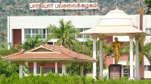 Bharathiar University Study Center Chennai Region